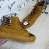 Женские ботинки криперы сникерсы в стиле Rihanna