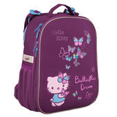 Рюкзак школьный каркасный ортопедический HK16-531S Hello Kitty