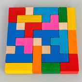 Деревянная головоломка Тетрис от Тато, Украина. В наличии.
