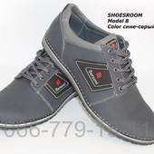 Туфли кожаные мужские Barzoni