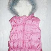 Обалденная жилетка на девочку 3-4 года