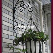 Держатель для цветов подвесной (металл)