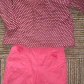 блузочка для 2х-3х летней куколки. Индия 100cotton