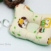 Подушка ортопедическая для новорожденных с 28 дня жизни, разные расцветки