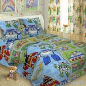 Детский комплект постельного белья (подростковый), расцветки