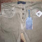Мужские осенние джинсы.Эксклюзив.Испания.Оригинал.Скины.Р.32-34