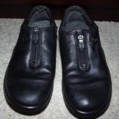Туфли кожаные Ecco 38 размер 24 см стелька.