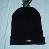 Фирменная черная шапка на Thinsulate удлиненная,новая