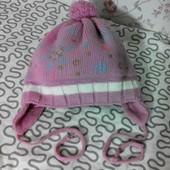 теплая шапка на зиму 1-3г