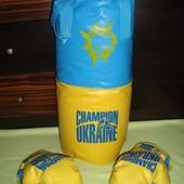 Груша боксёрская с перчатками