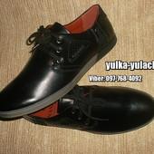 Стильные туфли мокасины на шнуровке