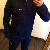 Спортивный костюм Nike, р. 46-52, син., электрик, черный, код kt-19023