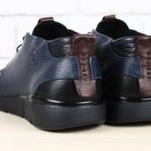 код: 2291 Мужские туфли - мокасины кожаные