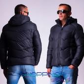 Зимняя мужская куртка 2 цвета