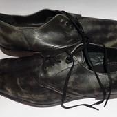 (46) Шикарные кожаные брендовые туфли Aston Grey!