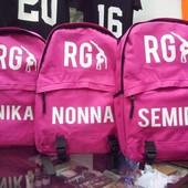 Рюкзак с нанесением имени/логотипа/названия команды, фирмы и т.д.