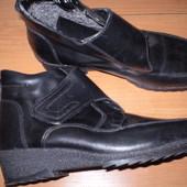 кожаные  зимние  ботинки  ф.  Filanto  comfort  размер  39  -  25.5  см
