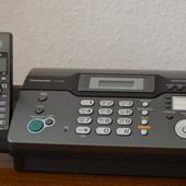 Факс Panasonic KX-fc966ua с беспроводной трубкой dect KX-tga711