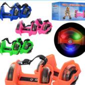 Ролики на обувь Flashing Rollers (Флэш-роллеры), ролики на пятку с подсветкой