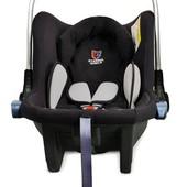 Детское автокресло 0(+)Eternal Shield Mommy Baby (серый/черный)