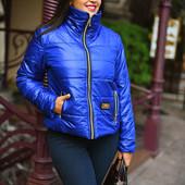Женская демисезонная куртка 50-54