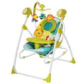 Детская качель кресло 2в1 Bambi M1540-4-2 Новинка