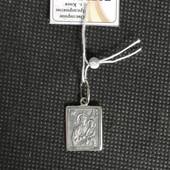 Новый серебряный подвес ладанка Божья Матерь Серебро 925 пробы