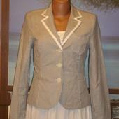 Актуальный пиджак в полоску в морском стиле Lindex р.8-10
