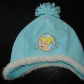 шапка Disney 48-50 см состояние отличное как новая Верх-флис,подкладка-флис+ коттон Холодная осень Н