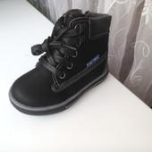 осенние ботинки новая модель на баечке ортопедическая стелька кожа