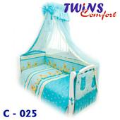 Детский постельный комплект (8ед) Twins - Comfort Утята 3 цвета