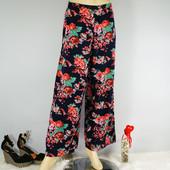 S-M Boohoo крутые брюки в цветочный принт!0111