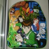 """Рюкзак ранец портфель  """" Ben 10 """"  фирма Cartoon Network"""