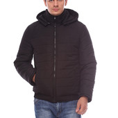 Мужская стильная куртка с капюшоном