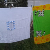 детские пододеяльники и полотенца,наволочки