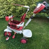 Трехколёсный велосипед Smart Trike Dream, красный