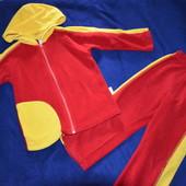 флисовый костюм домовенок рост 104 см