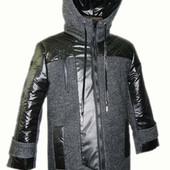 зимнее пальто на мальчика МАРК на рост 86 116