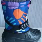 Лёгкие дутыши, тёплые, детские, зимние сапоги сноубутсы для комфортной ходьбы и тёплых ног