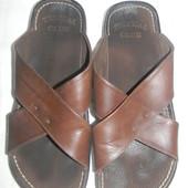 Мужские кожаные шлепки Tropical Club р.42 дл.ст 29,5см