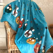 Детский плед одеяло Веселый зоопарк