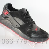 Кожаные мужские кроссовки демисезонные
