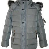 зимняя куртка для мальчика 3 цвета на 8-16 лет