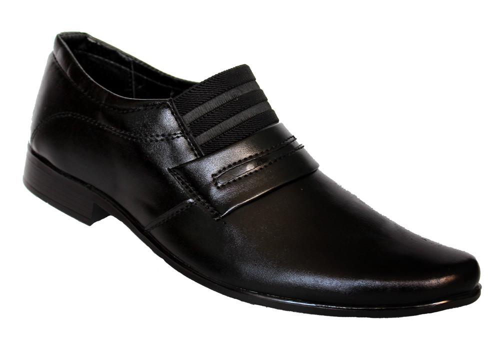 419e958280ed Классические мужские туфли черные на резинку (БК02), 270 грн. в ...
