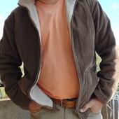 Фирменная стильная зимняя вильветовая  курточка Small (Смолл).м-л .