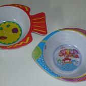 """Детские тарелочки """"Рыбка"""" на 300 мл."""