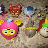 Разные игрушки из McDonald's