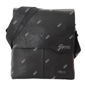 Отличная деловая сумка для мужчин черная Е 54170