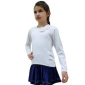 Блуза  в школу с длинным рукавом