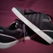 Качественные коричневые джинсовые кроссовки K-Swiss. сша. USA - 8.